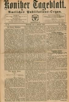 Konitzer Tageblatt.Amtliches Publikations=Organ, nr.30