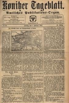 Konitzer Tageblatt.Amtliches Publikations=Organ, nr.32