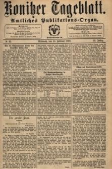 Konitzer Tageblatt.Amtliches Publikations=Organ, nr.39