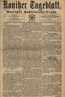 Konitzer Tageblatt.Amtliches Publikations=Organ, nr.40