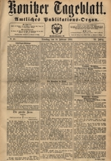 Konitzer Tageblatt.Amtliches Publikations=Organ, nr.41