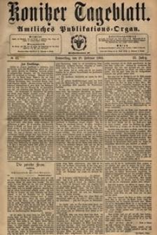 Konitzer Tageblatt.Amtliches Publikations=Organ, nr.43