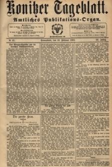 Konitzer Tageblatt.Amtliches Publikations=Organ, nr.45