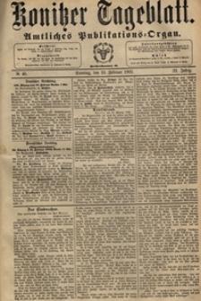 Konitzer Tageblatt.Amtliches Publikations=Organ, nr.46