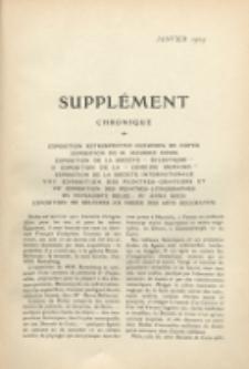 Art et décoration : revue mensuelle d'art moderne. 1909 Suppleément, Janvier