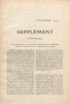 Art et décoration : revue mensuelle d'art moderne. 1909 Suppleément Chronique,novembre