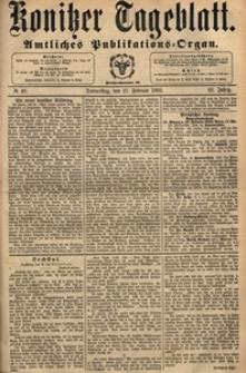 Konitzer Tageblatt.Amtliches Publikations=Organ, nr.49