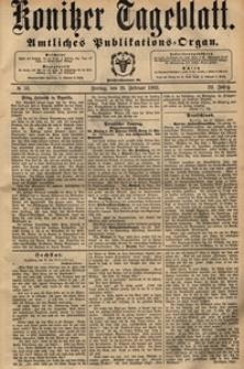 Konitzer Tageblatt.Amtliches Publikations=Organ, nr.50