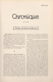 Art et Décoration : revue mensuelle d'art moderne. 1922 Chronique, juillet