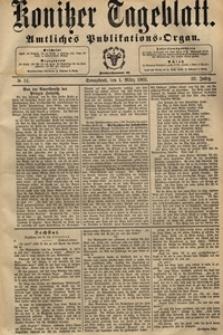 Konitzer Tageblatt.Amtliches Publikations=Organ, nr.51