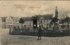 Wejherowo / Neustadt W. Pr., Marktplatz nach der Danzigerstrasse zu
