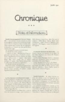 Art et Décoration : revue mensuelle d'art moderne. 1921 Chronique, juillet