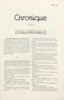 Art et Décoration : revue mensuelle d'art moderne. 1921 Chronique, aout