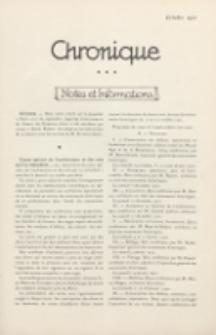 Art et Décoration : revue mensuelle d'art moderne. 1921 Chronique, octobre