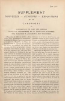Art et décoration : revue mensuelle d'art moderne. 1913 Supleément Chronique, juin
