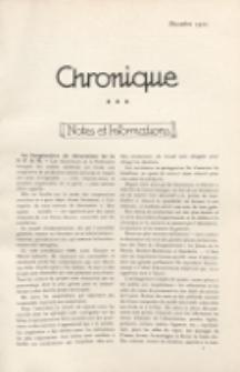 Art et décoration : revue mensuelle d'art moderne 1920, Chronique, décembre
