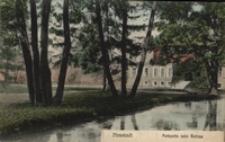 Wejherowo / Neustadt , Parkpartie beim Schloss