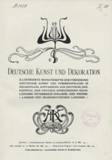 Deutsche Kunst und Dekoration 1903/1934