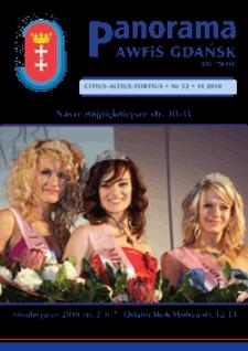 Panorama AWF Gdańsk : citius, altius, fortius, 2010, Nr 52