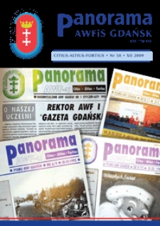 Panorama AWF Gdańsk : citius, altius, fortius, 2009, Nr 50