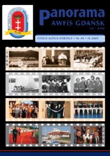 Panorama AWF Gdańsk : citius, altius, fortius, 2009, Nr 49