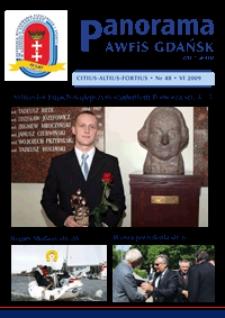 Panorama AWF Gdańsk : citius, altius, fortius, 2009, Nr 48