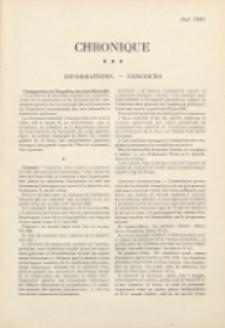Art et décoration : revue mensuelle d'art moderne 1925. Chronique, avril