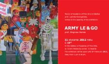 Zaproszenie do wystawy Army Le & Go prof. Zbigniew Gorlak