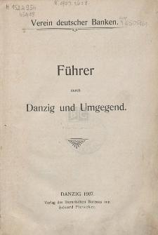 Führer durch Danzig und Umgegend