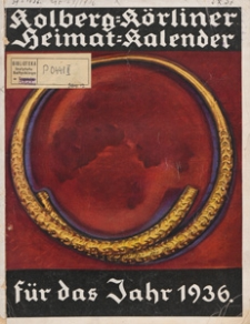 Heimat-Kalender des Stadtkreises Kolberg und des Landkreises Kolberg-Körlin