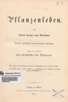 Pflanzenleben. Bd. 2, Die Geschichte der Pflanzen