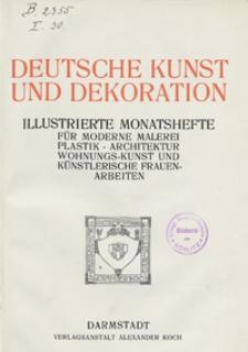 Deutsche Kunst und Dekoration 1906/1907