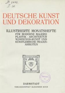 Deutsche Kunst und Dekoration 1907/1908