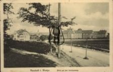 Wejherowo / Neustadt Westpr., Blick auf den Schutzenweg