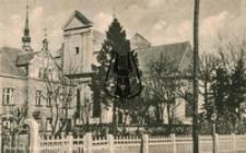 Wejherowo / Neustadt Wpr., Katholisches Pfarrhaus mit Kirche