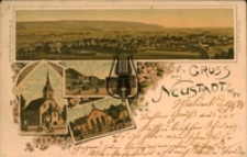 Wejherowo / Neustadt Wpr., Gruss aus Neustadt