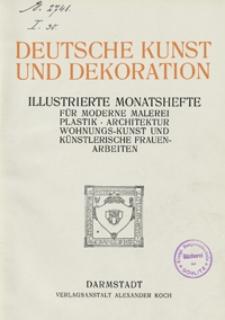 Deutsche Kunst und Dekoration 1909