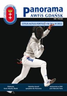 Panorama AWFiS Gdańsk : citius, altius, fortius, 2011, Nr 54
