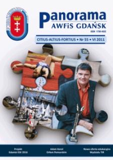 Panorama AWFiS Gdańsk : citius, altius, fortius, 2011, Nr 55