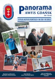 Panorama AWFiS Gdańsk : citius, altius, fortius, 2011, Nr 56