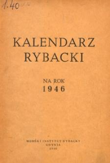 Kalendarz Rybacki na Rok 1946