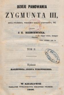Dzieje panowania Zygmunta III, króla polskiego. T. 2