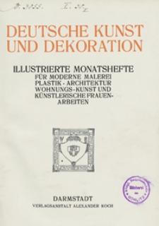 Deutsche Kunst und Dekoration 1911