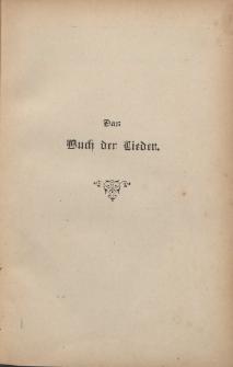 Das Buch der Lieder