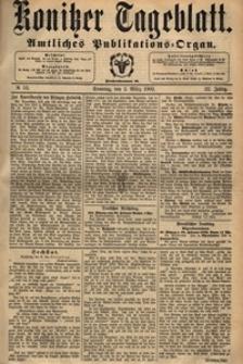 Konitzer Tageblatt.Amtliches Publikations=Organ, nr.52