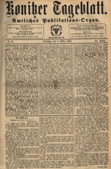 Konitzer Tageblatt.Amtliches Publikations=Organ, nr.53