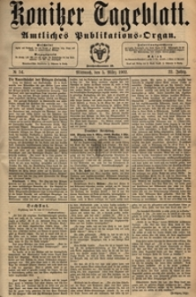 Konitzer Tageblatt.Amtliches Publikations=Organ, nr.54