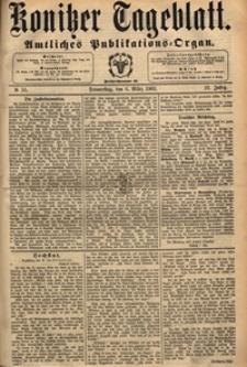 Konitzer Tageblatt.Amtliches Publikations=Organ, nr.55