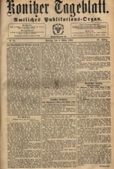 Konitzer Tageblatt.Amtliches Publikations=Organ, nr.56