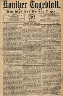 Konitzer Tageblatt.Amtliches Publikations=Organ, nr.58